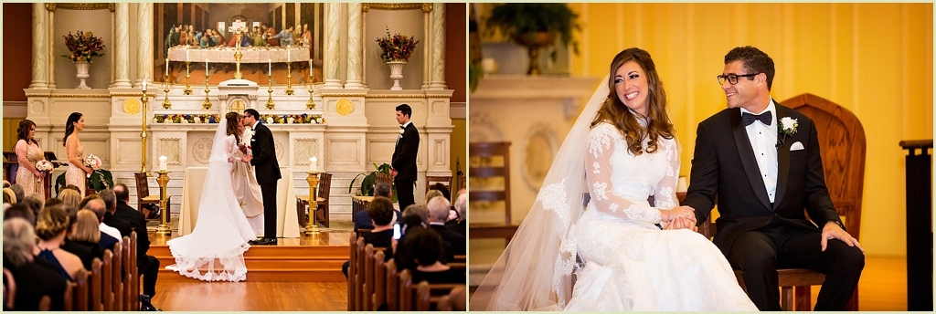 Catholic Wedding St Cecilia Boston
