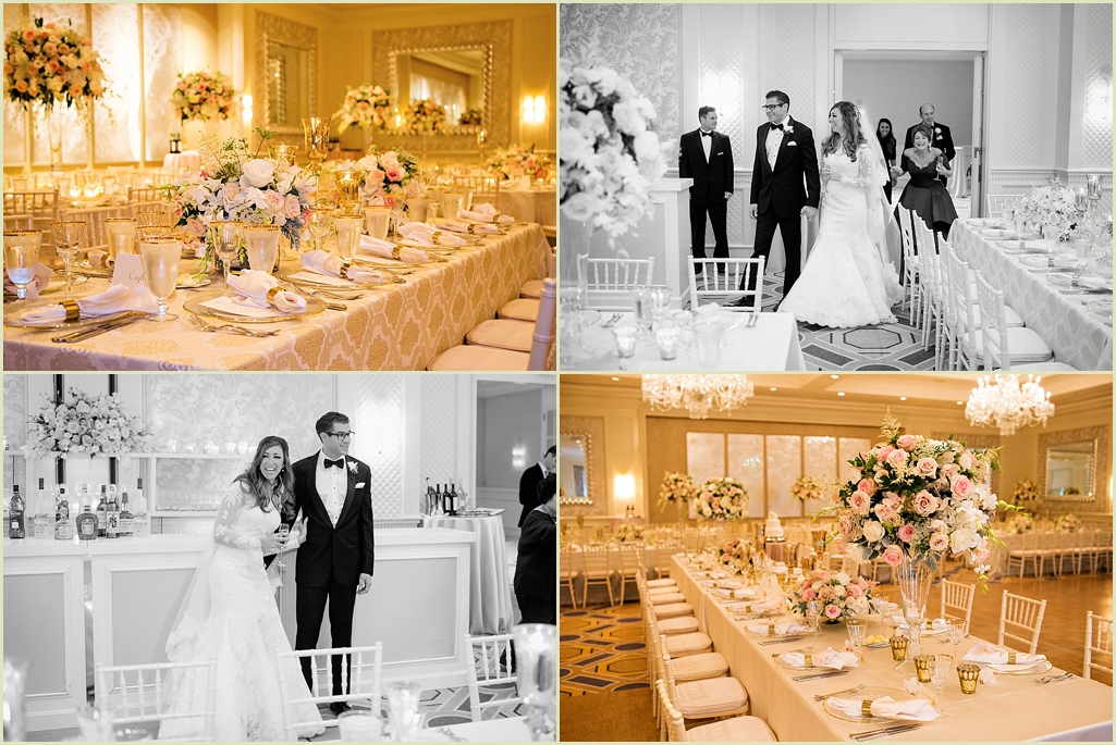 Gold Blush Wedding Four Seasons Boston
