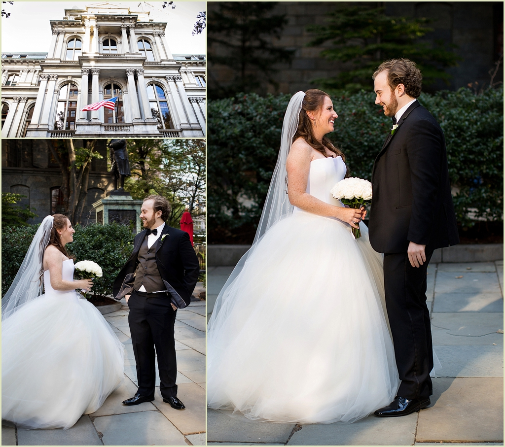 Old City Hall Boston Wedding Photography