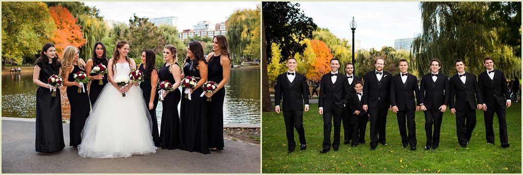Boston Public Garden Wedding