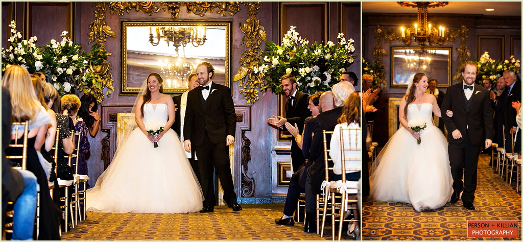 Wedding Ceremony Omni Parker House Boston