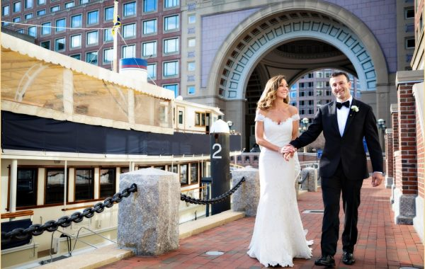 A Classic Boston Harbor Hotel Wedding