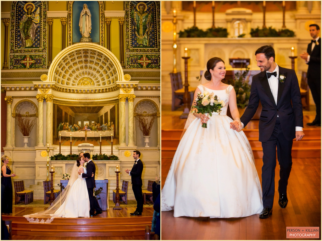 St Cecilia Parish Boston Wedding