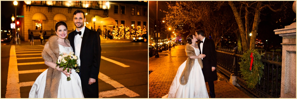 Winter Wedding Back Bay Boston