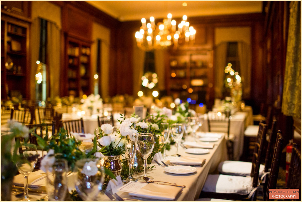 Hampshire House Boston Winter Wedding