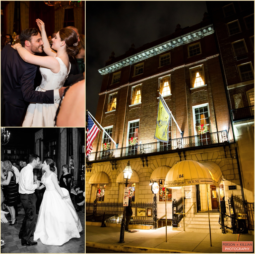 Boston Beacon Hill Wedding Hampshire House