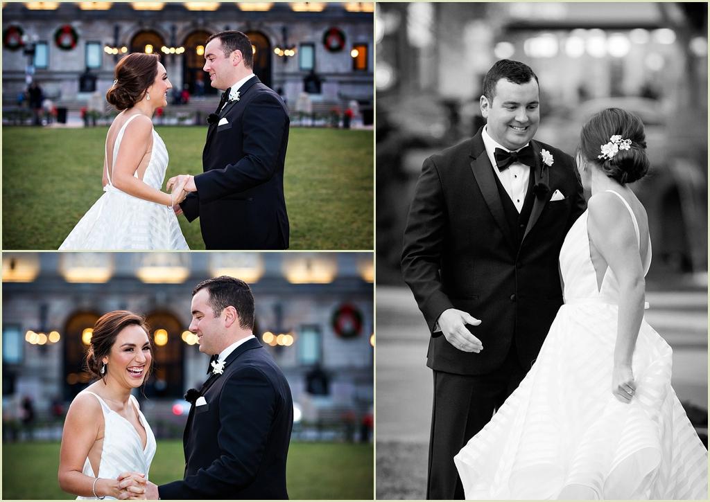 Copley Square Boston Wedding