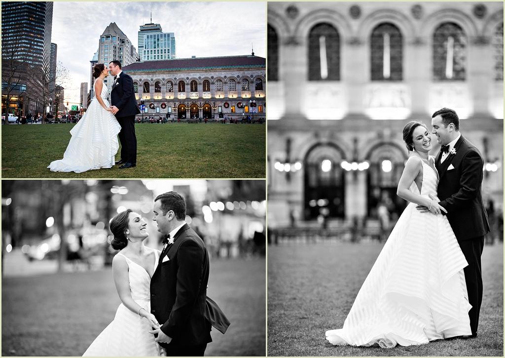 Boston Public Library Copley Square Wedding