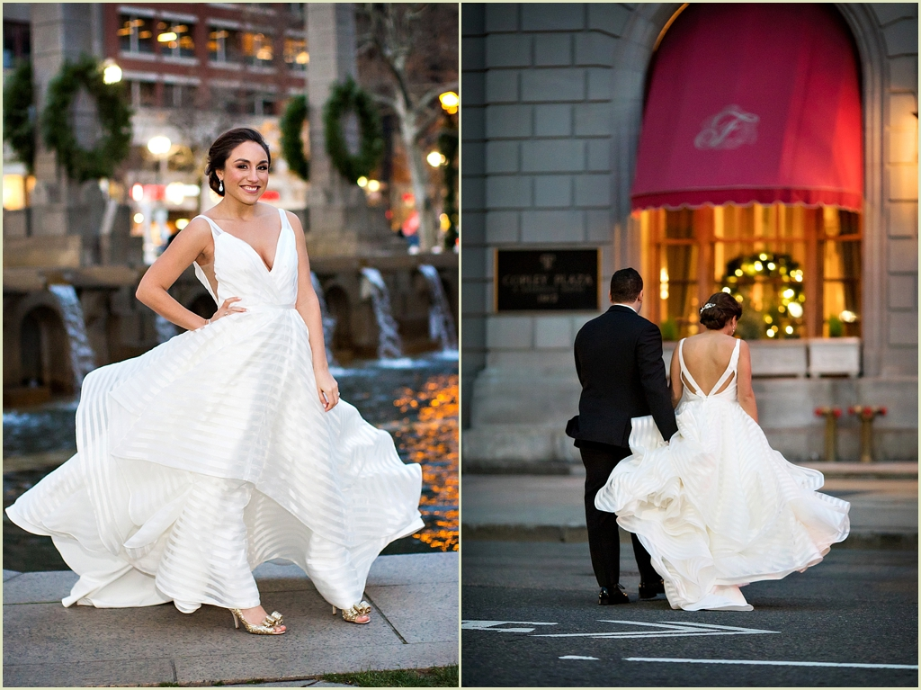 Copley Square Boston Wedding Photography