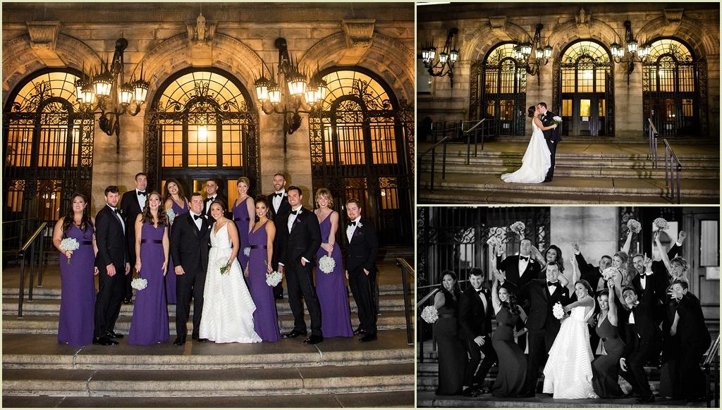 Boston Public Library Wedding Photography