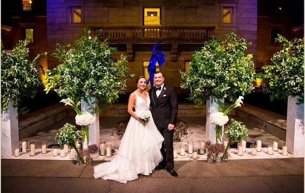 Boston Public Library Wedding with The Catered Affair and Marc Hall Design