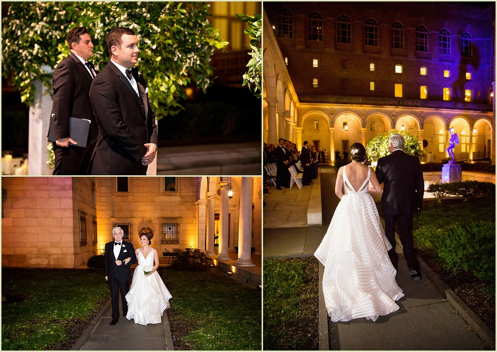 BPL Courtyard Boston Wedding
