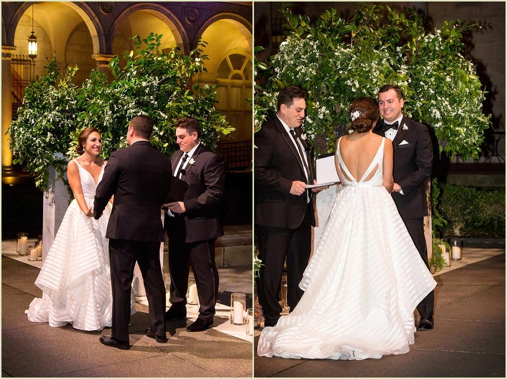 Boston Wedding Photography BPL Courtyard