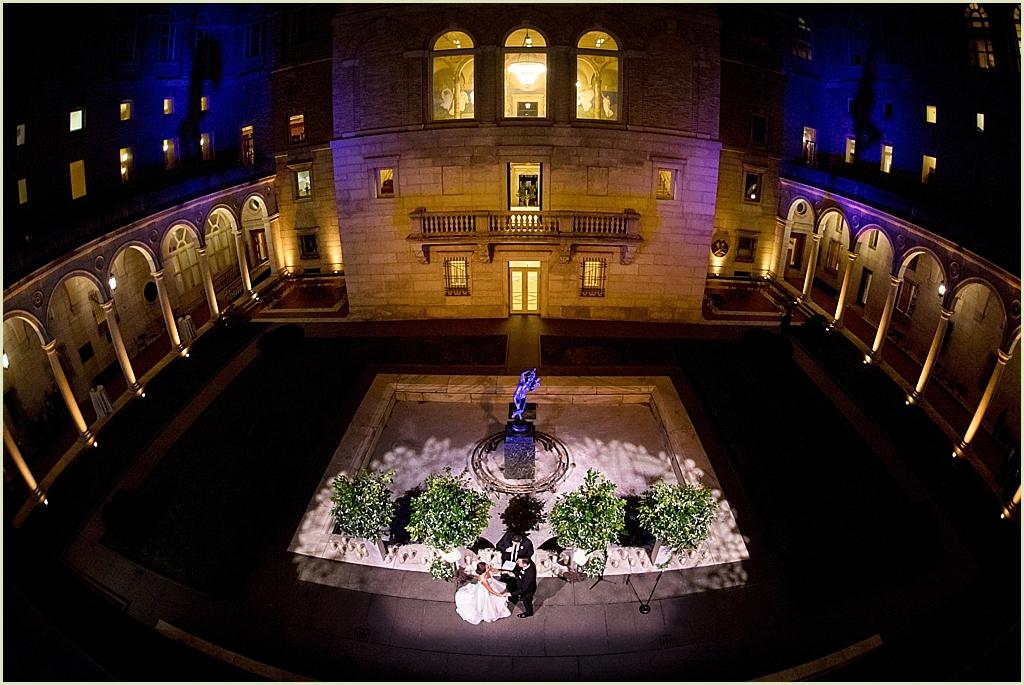 Boston Public Library Courtyard Wedding