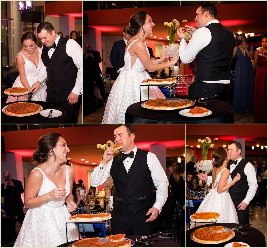 Boston Public Library Wedding Pizza