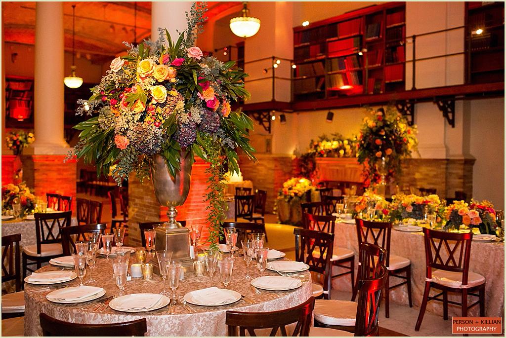 Boston Public Library BPL Wedding Marc Hall