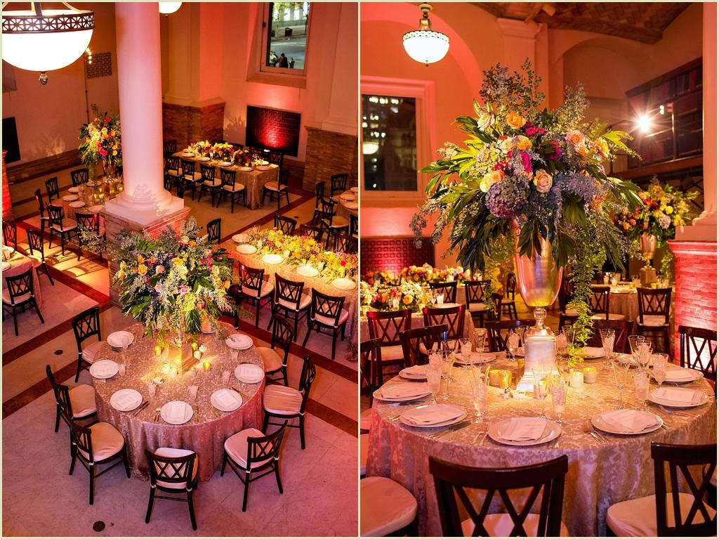 Marc Hall Design Boston Public Library Wedding