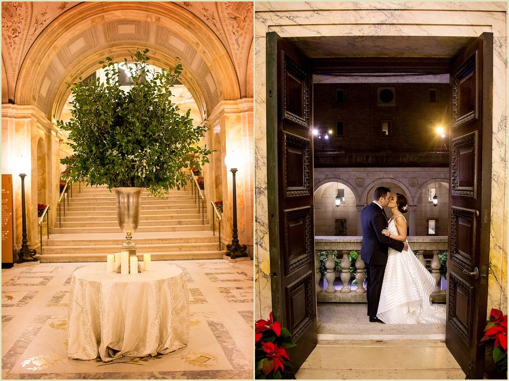 Boston Public Library Wedding Marc Hall