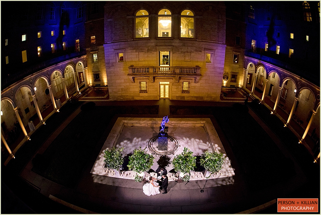 Boston Public Library Wedding Marc Hall Design