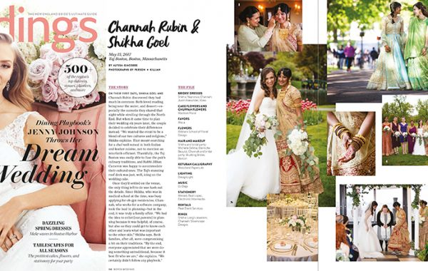 Featured Real Weddings - Boston Weddings Magazine - Southern New England Weddings - Cosmopolitan