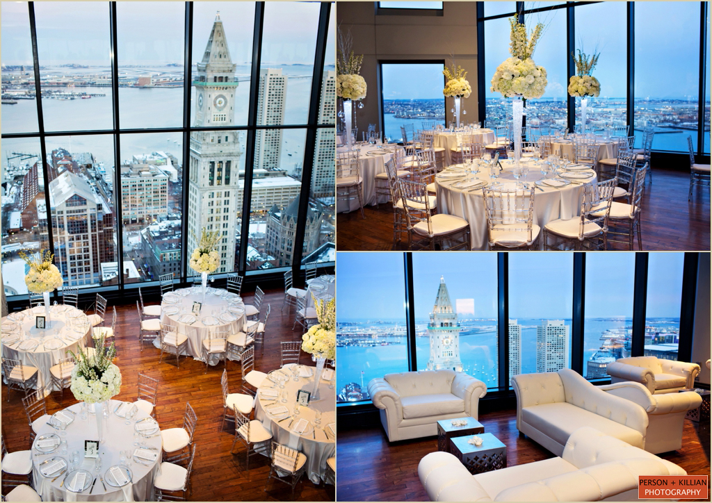 Winter Wedding Boston State Room Great Room