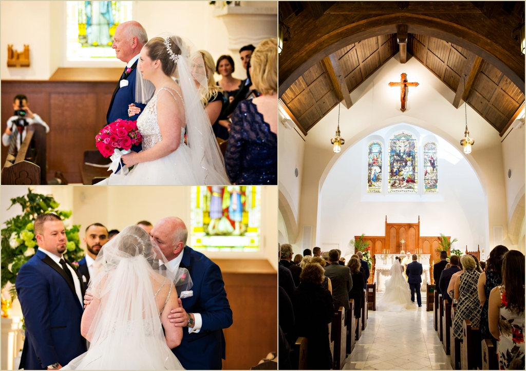 Shrine of Our Lady of Good Voyage Boston Wedding Photography