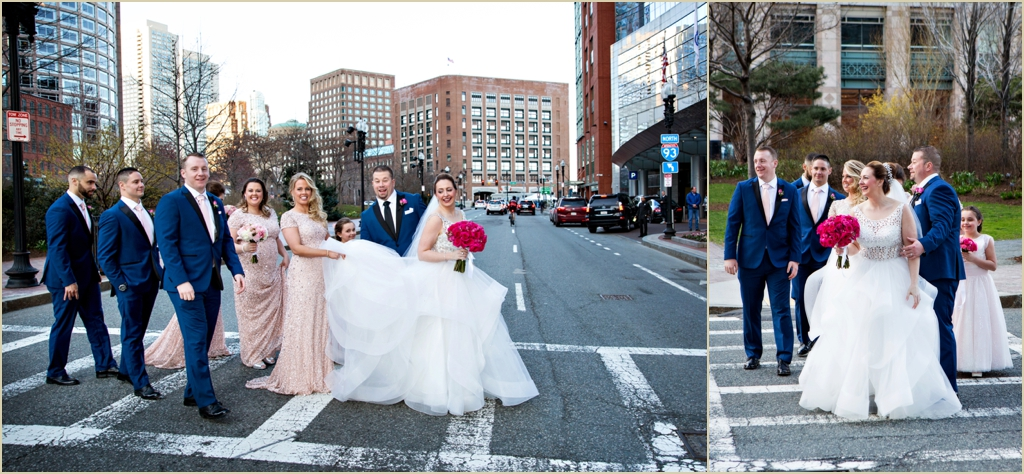 InterContinental Boston Wedding Photography