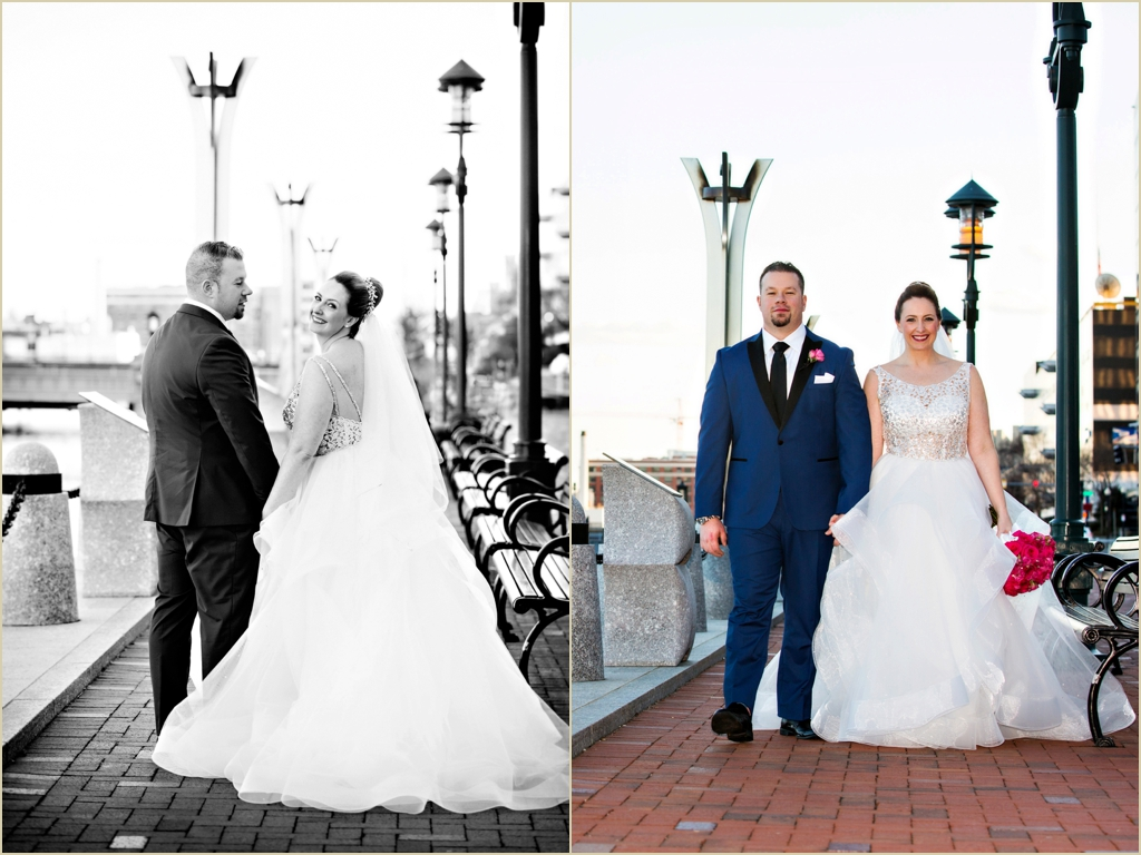 Boston Waterfront Wedding InterContinental