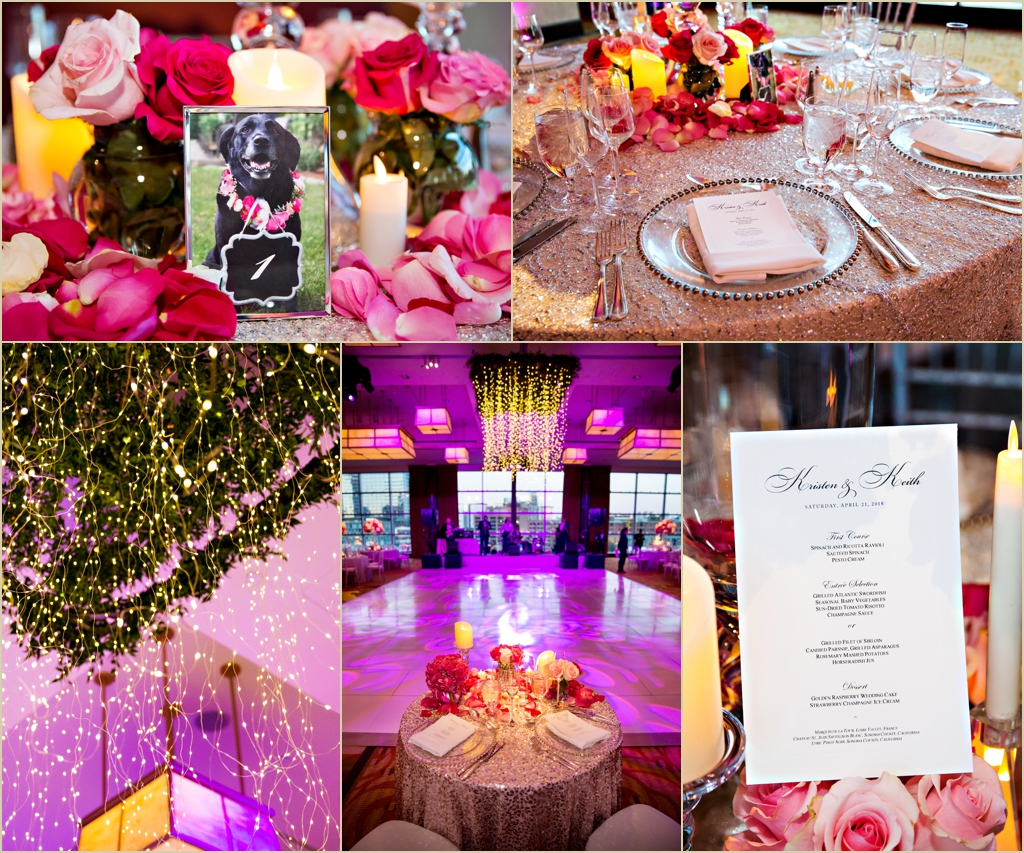 InterContinental Boston Spring Wedding Details