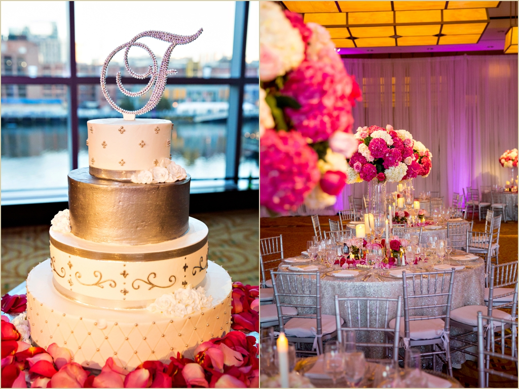 Elegant Spring Wedding InterContinental Boston