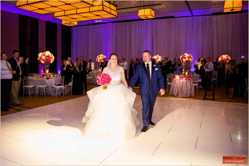 InterContinental Boston Ballroom Wedding
