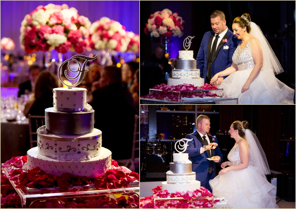 Pink and White Spring Wedding InterContinental Boston