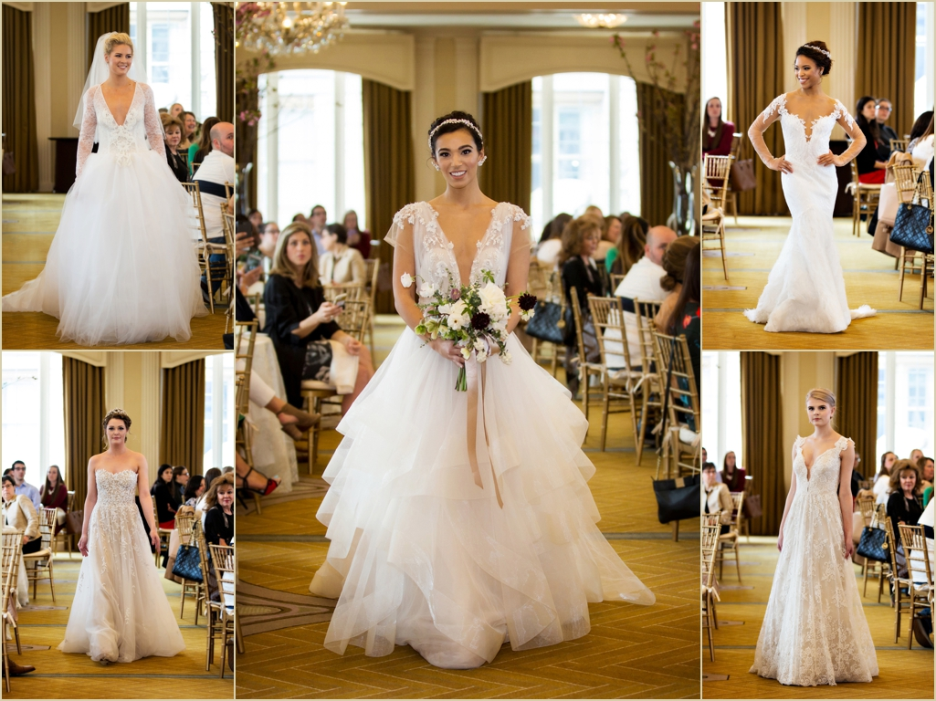 Omni Parker House Boston Brunch and Fashion Show by Lelite Bridal Current Wedding Gown Trends