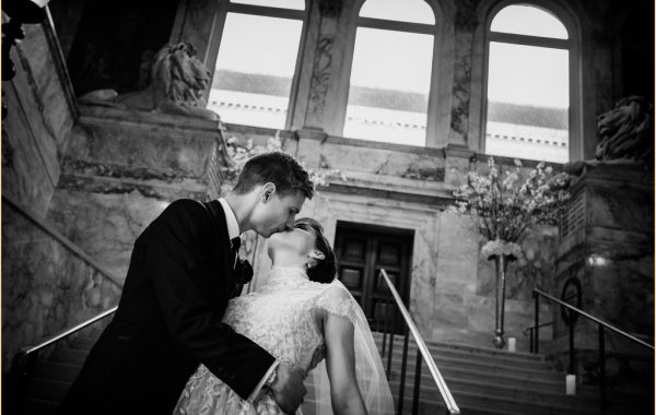 Spring Boston Public Library Wedding with Jodi Raphael Events