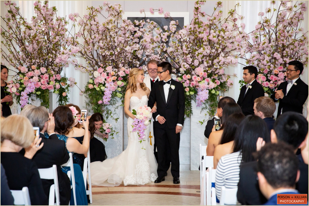 Boston Public Library Courtyard Cafe Wedding Ceremony
