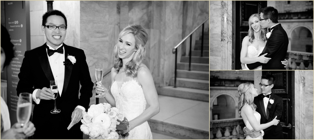 Boston Public Library BPL Wedding