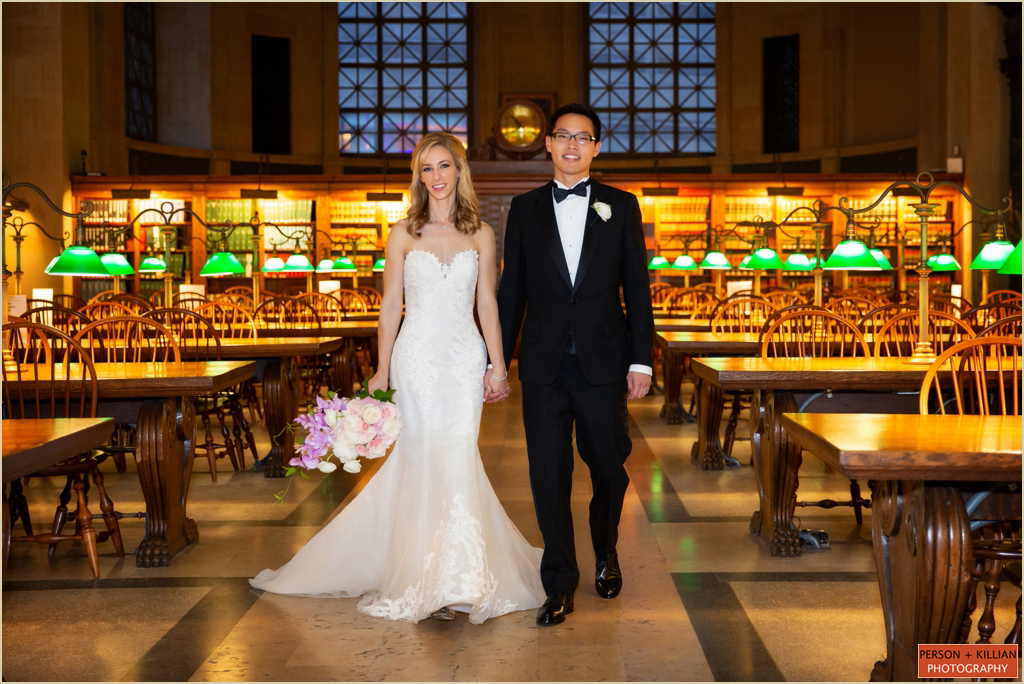 Boston Public Library Bates Hall Wedding Photography