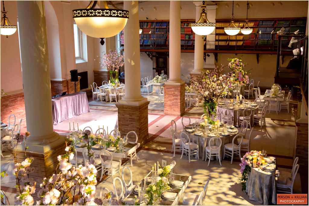 Boston Public Library Guastavino Room Wedding