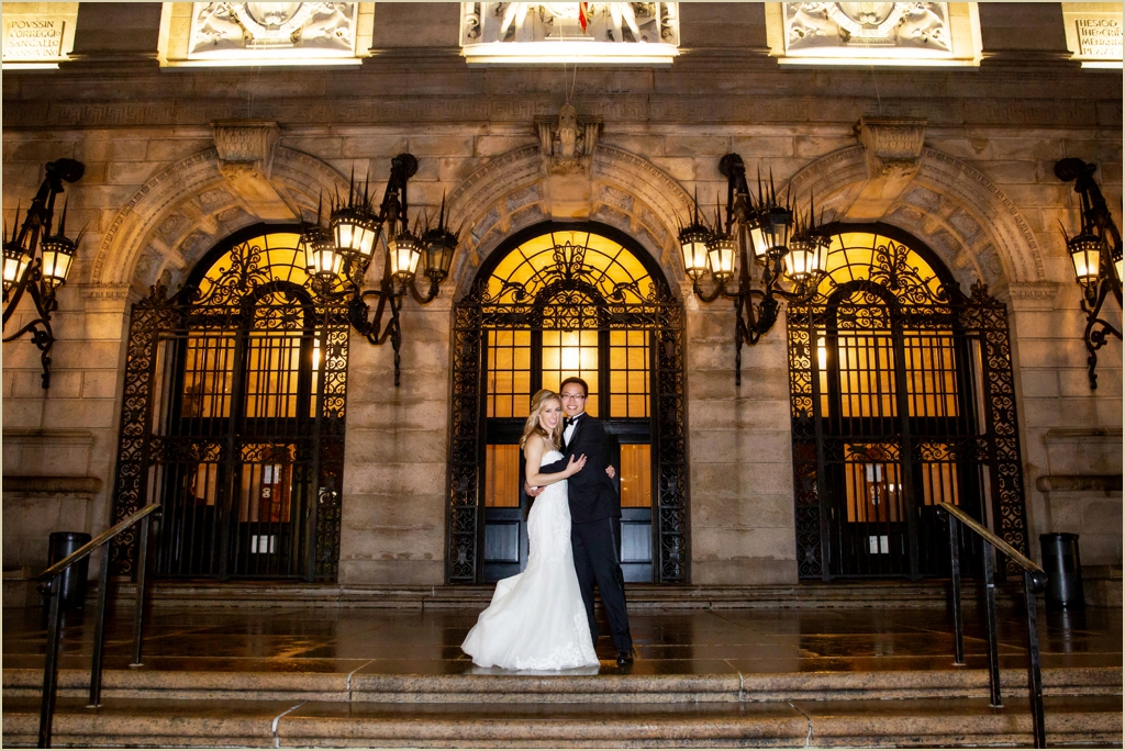 Boston Public Library Wedding Copley Square