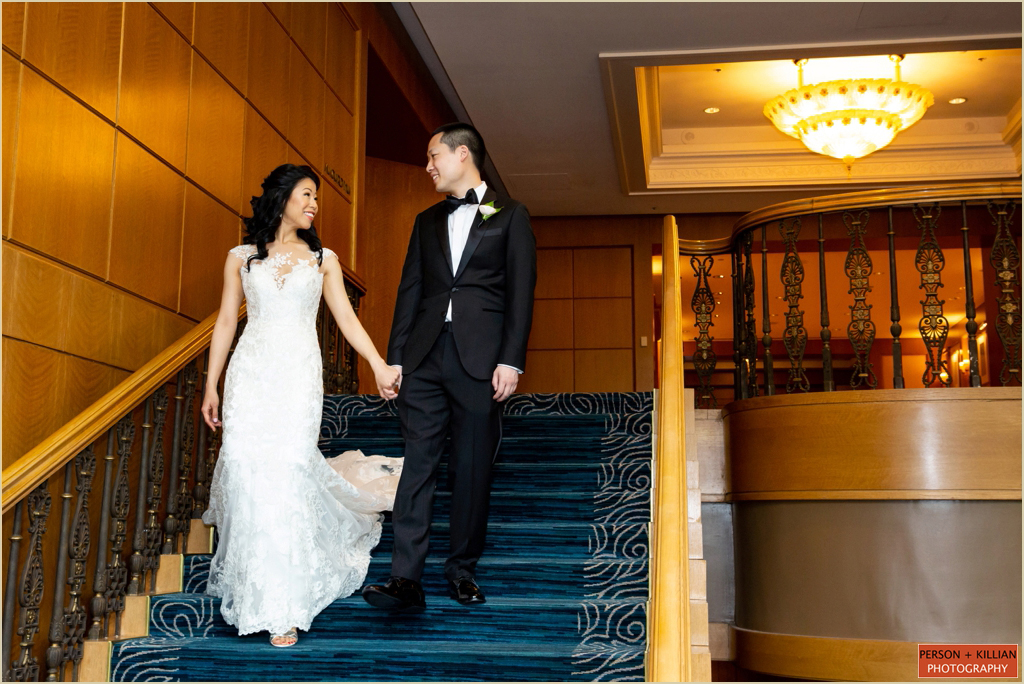 Four Seasons Boston Traditional Wedding