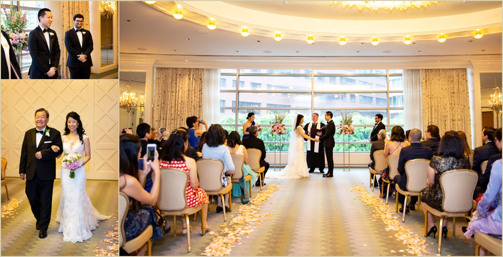 Four Seasons Boston Wedding Ceremony Governors Room
