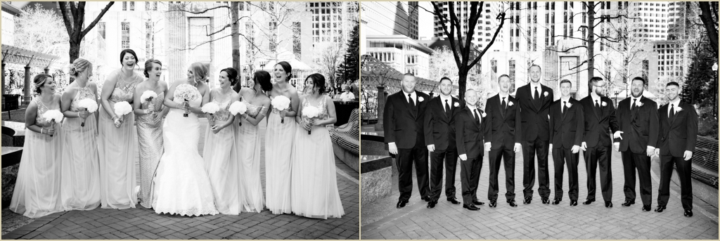 Spring Wedding Boston Post Office Square