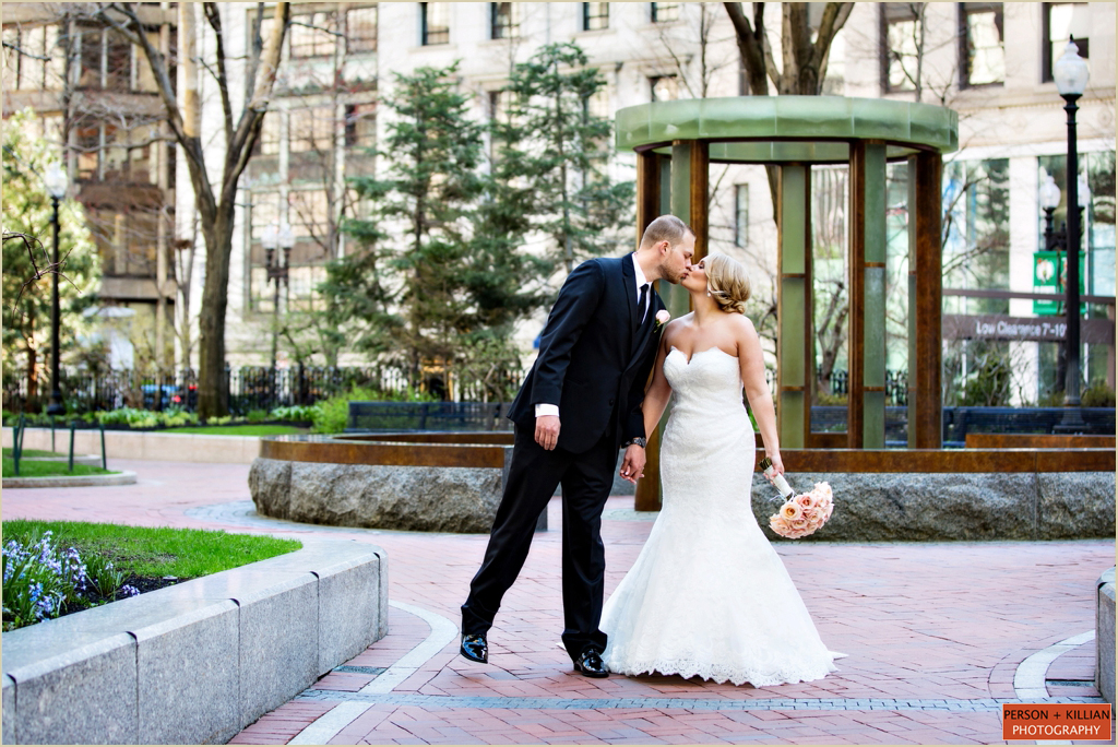 Post Office Square Boston Wedding Photography