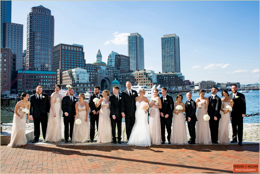 Wedding Photography Boston Harbor