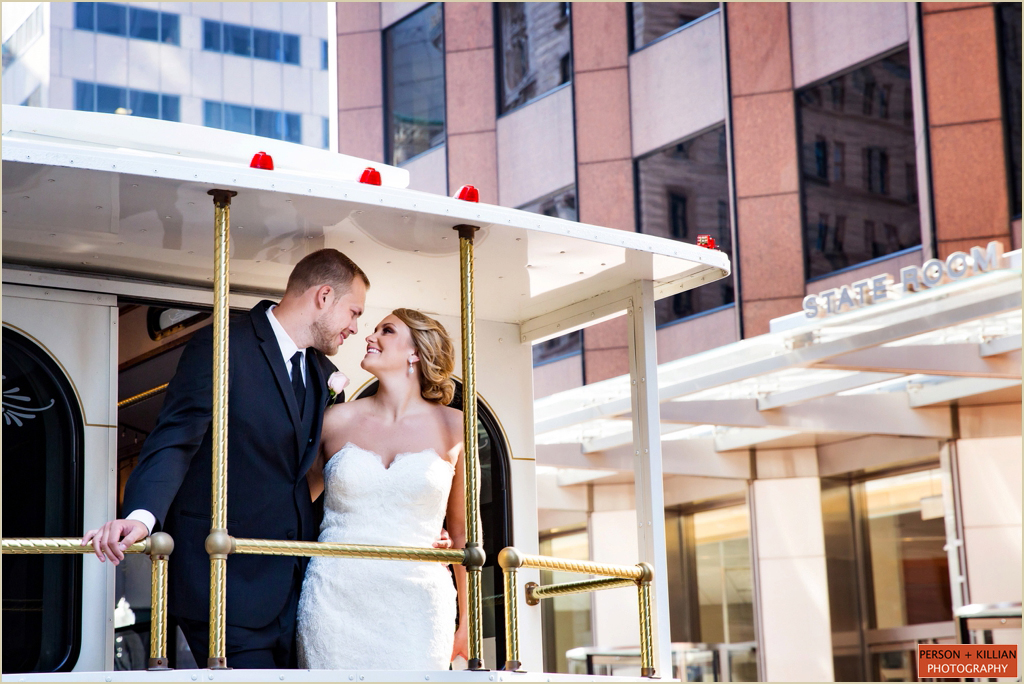 State Room Boston Spring Wedding