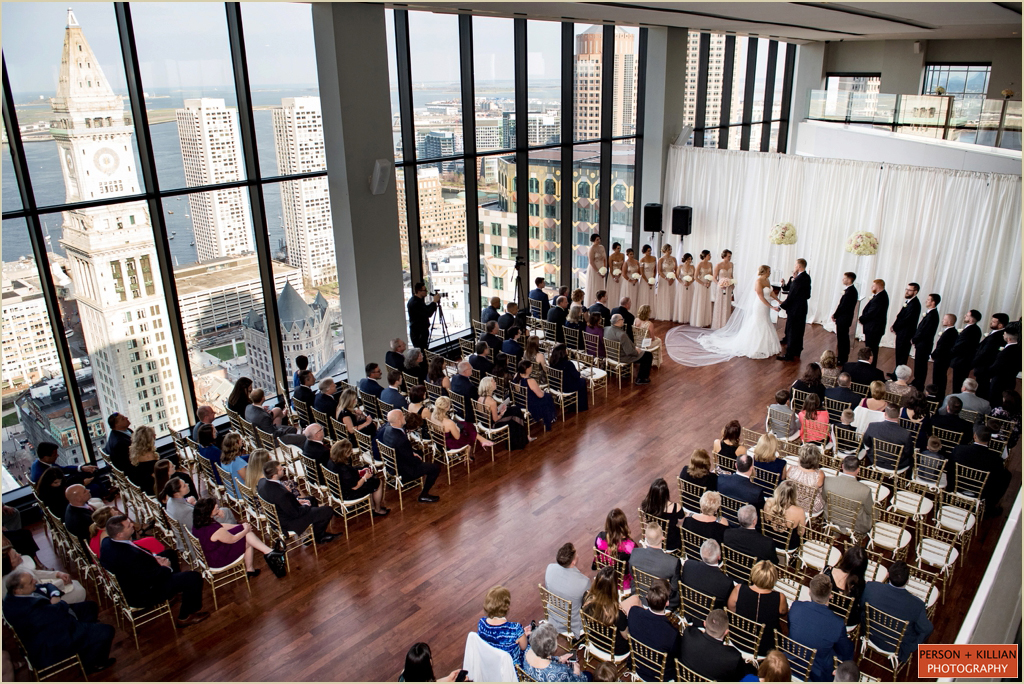 State Room Boston Great Room Wedding Ceremony