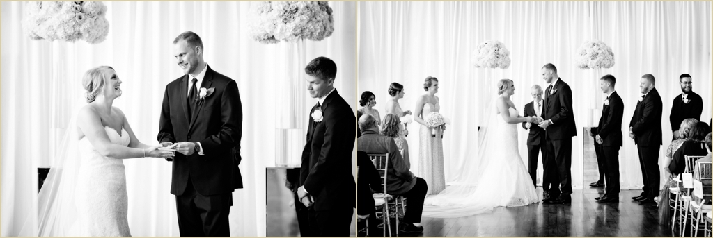 State Room Boston Spring Wedding Ceremony