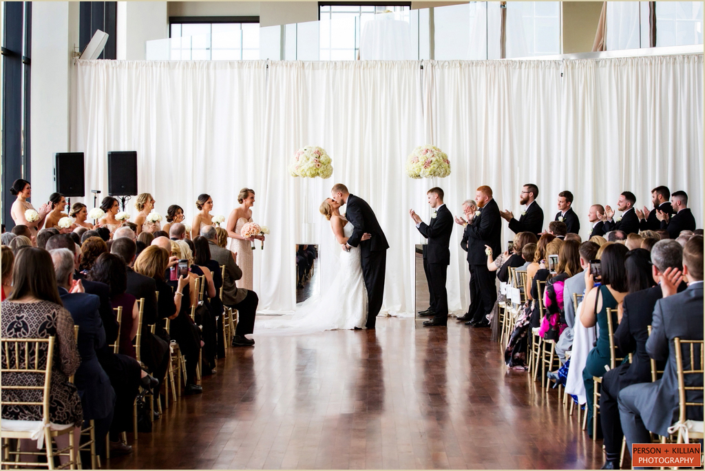 Spring Wedding Ceremony State Room Boston