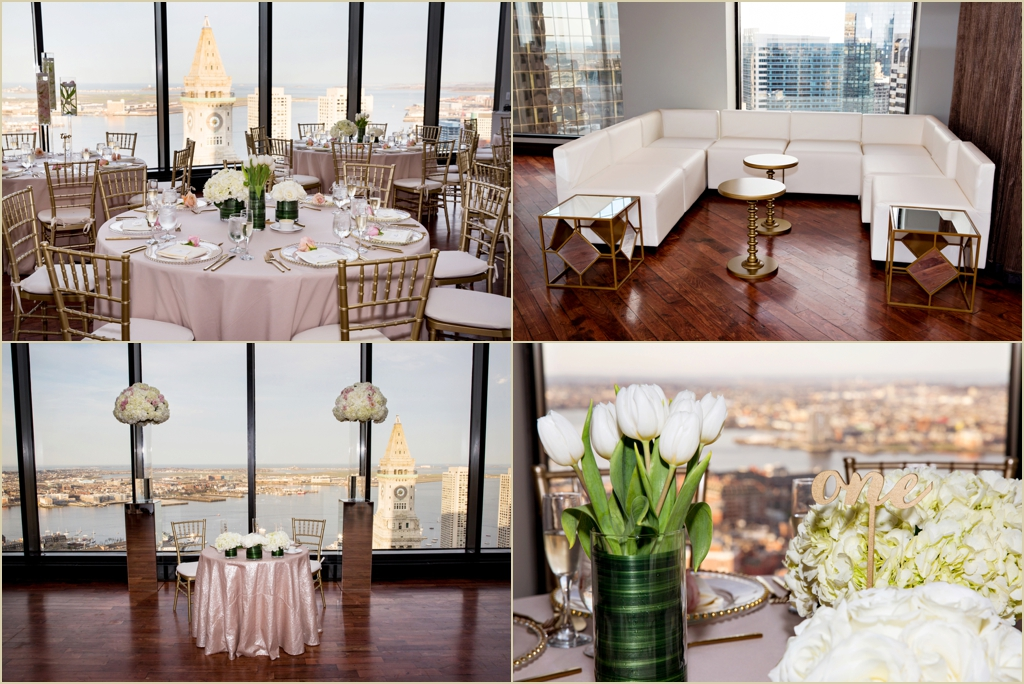 Modern State Room Boston Wedding