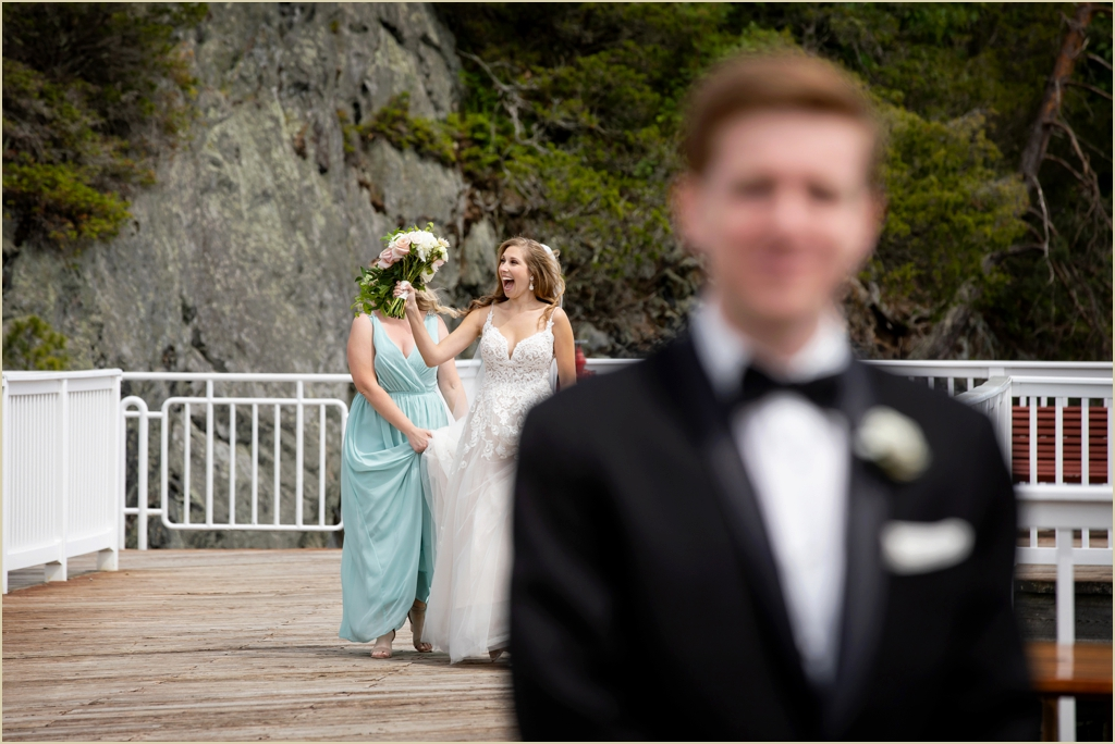 New Hampshire Seashore Wedding Wentworth by the Sea